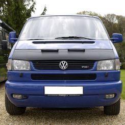 VW T4 Long Nose Bonnet Bra - Black (1996-2003)