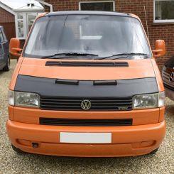 VW T4 Short Nose Bonnet Bra - Black (1996-2003)