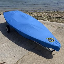 Laser Dinghy Tailored Cover - Blue