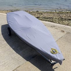 Laser Dinghy Tailored Cover - Grey