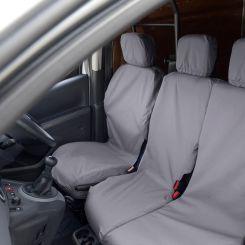 Citroen Berlingo Tailored Front Seat Covers - Grey (2008 - 2018)