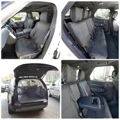 Land Rover Discovery 5 Tailored Boot Liner PLUS Front & Rear Seat Covers - Black (2017 Onwards)