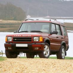 Land Rover Discovery 2 Load Liners