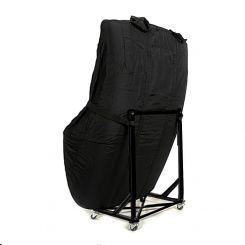 Fiat Barchetta Custom Hardtop Cover and Hardtop Stand - Black