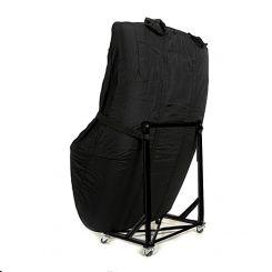 Mercedes Pagoda Custom Hardtop Cover and Hardtop Stand - Black