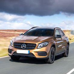 Mercedes GLA Boot Liners