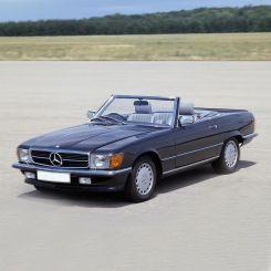 Mercedes SL Hardtop Covers & Stands