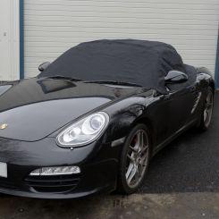 Porsche Boxster 987 Tailored Half Cover - Black (2005-2012)