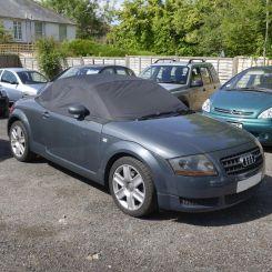 Audi TT Tailored Half Cover - Black  (2000-2006)