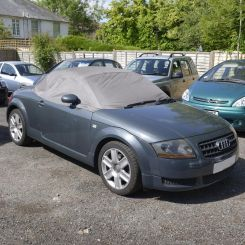 Audi TT Tailored Half Cover - Grey  (2000-2006)