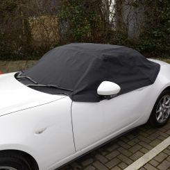 Mazda MX5 Mk4 Tailored Half Cover - Black (2015 Onwards)