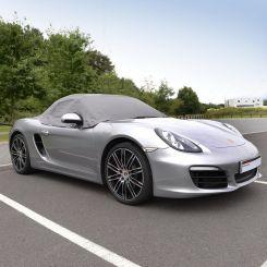 Porsche Boxster 981 Tailored Half Cover - Grey (2012-2016)