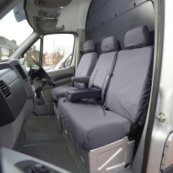 Mercedes Sprinter Tailored Front Seat Covers - Grey (2006-2010)