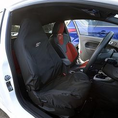 Ford Focus ST Recaro Single Seat Cover - Black (2012 Onwards)