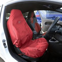 Ford Fiesta ST Recaro Single Seat Cover - Red (2013 Onwards)