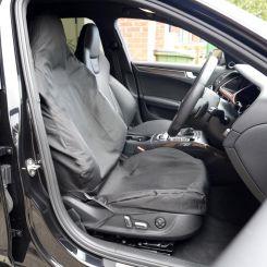 Audi RS RS4 RS5 RS6 Recaro Seat Cover - Black