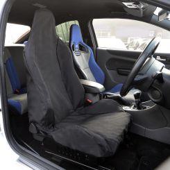 Ford Focus RS Recaro Single Seat Cover - Black (2011 Onwards)