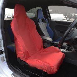 Ford Focus RS Recaro Single Seat Cover - Red (2011 Onwards)
