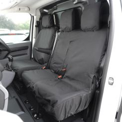 Toyota Proace Tailored Front Seat Covers - Black (2016 Onwards)