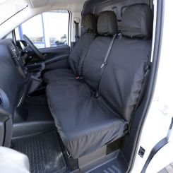 Mercedes Vito Tailored Front Seat Covers - Black (2014 Onwards)