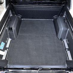 Ford Ranger T6 Double Cab - Custom Trunk Liner - Black (2012-2018)
