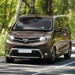 Toyota Proace Barn Door Covers