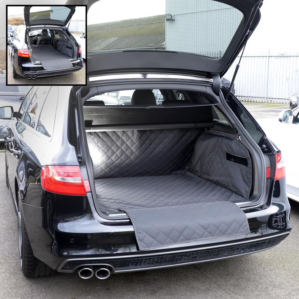 AUDI A4 ALLROAD QUILTED TAILORED BOOT LINER MAT DOG GUARD ...